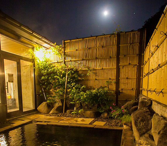 There are in-house bath and open-air bath for both men and ladies.